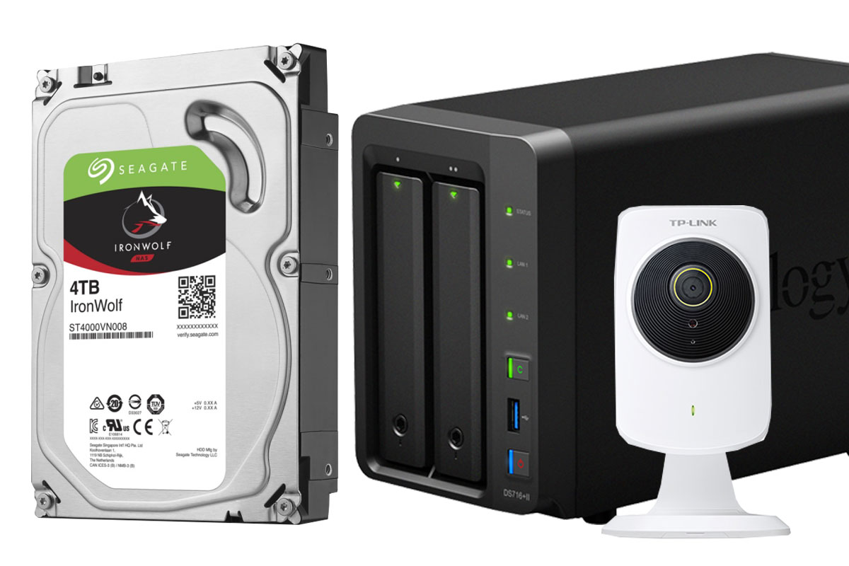 Photo of Solutie de supraveghere smart DIY: stocare Seagate Ironwolf + NAS Synology DS716 + camere TP-Link NC250
