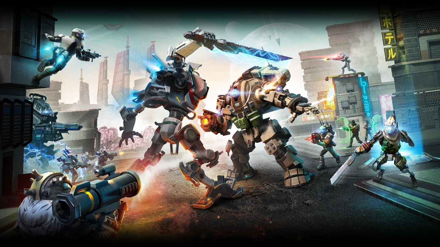 Photo of O variantă de Titanfall ajunge pe mobile