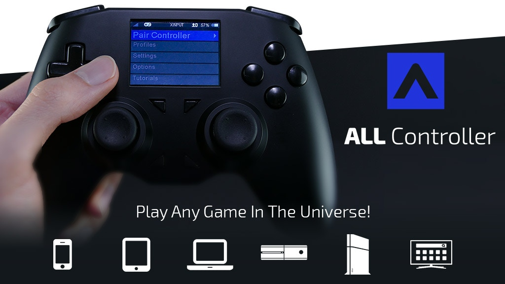 Photo of ALL Controller, un gamepad universal este acum pe Kickstarter