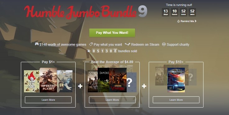 Photo of Humble Bundle aduce noi promoții