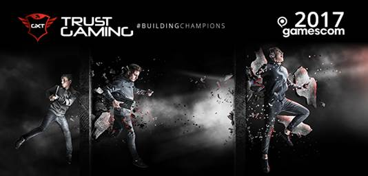 Photo of Trust Gaming este prezent la Gamescom 2017 cu noua ideologie #buildingchampions