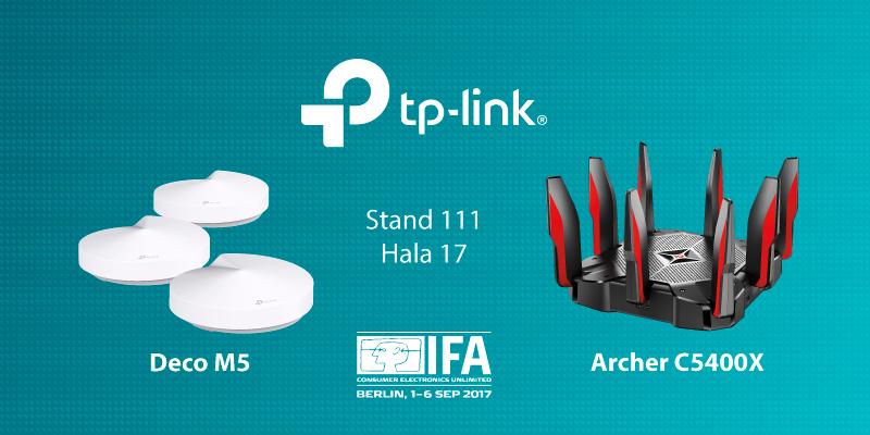 Photo of TP-Link a prezentat noi produse la IFA 2017