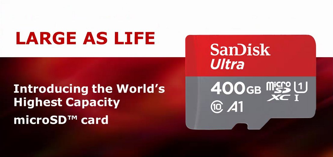 Photo of SanDisk anunță primul card MicroSD de 400 GB