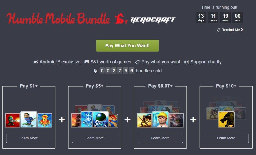 Photo of Humble Bundle are o nouă promoție pentru jocuri mobile