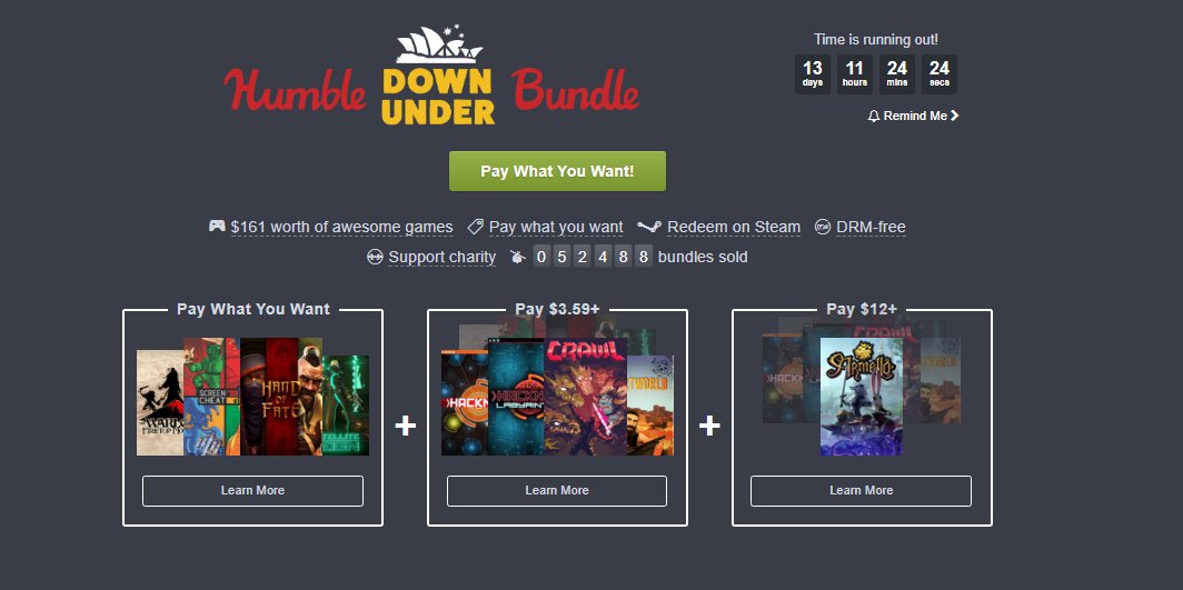 Photo of Humble Bundle revine cu jocuri australiene