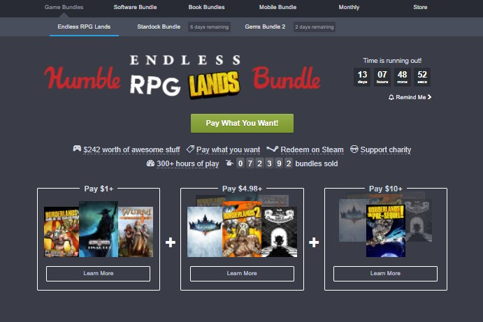 Photo of Humble Bundle are o nouă promoție axată pe rejucabilitate