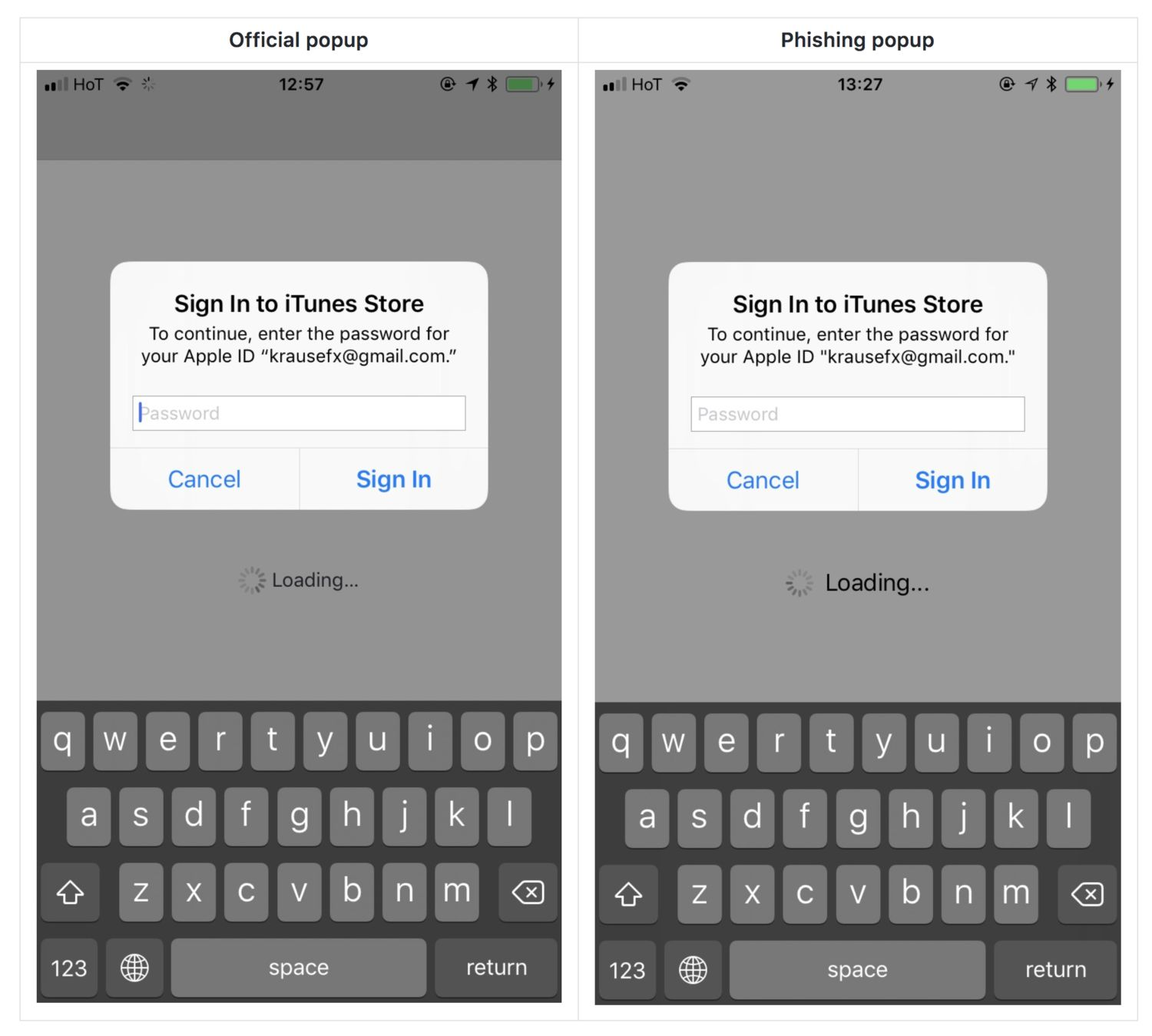 Photo of Un atac phishing v-ar putea solicita Apple ID-ul și parola pe iOS