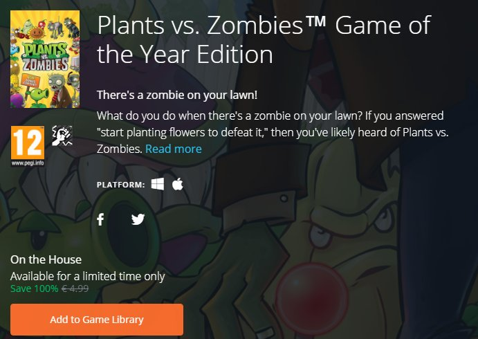 Photo of Plants vs Zombies este momentan gratuit pe Origin