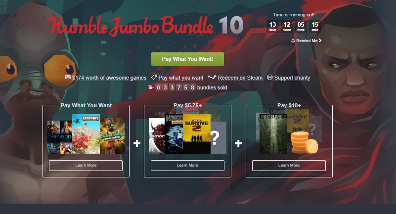 Photo of Humble Jumbo Bundle 10