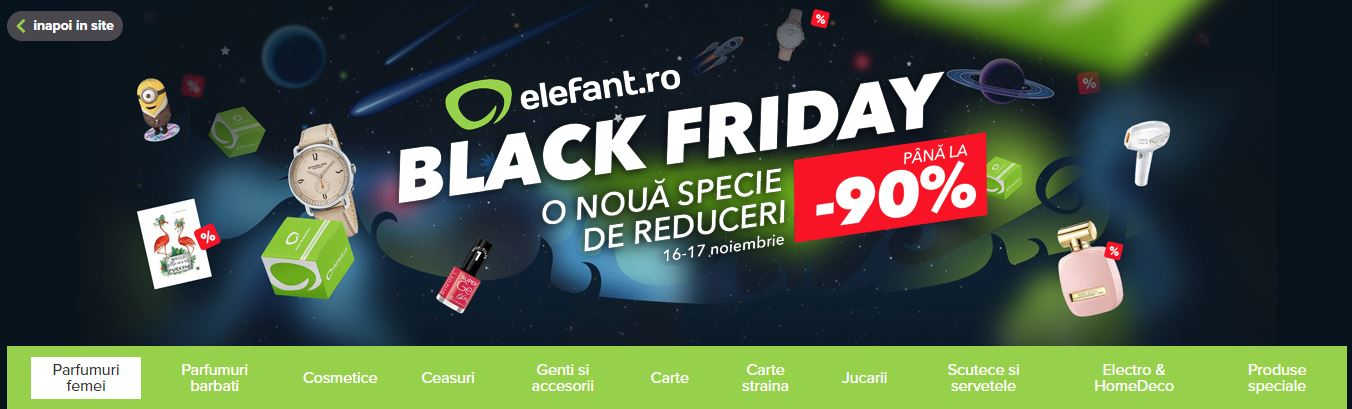 Photo of Oferta elefant.ro de Black Friday!