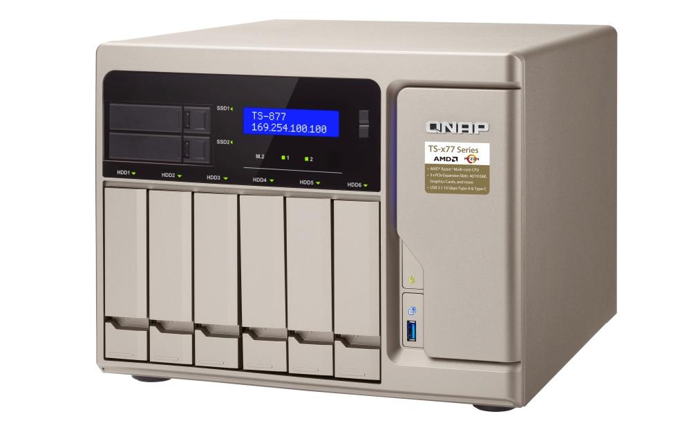 Photo of Primul NAS din lume cu procesor Ryzen: QNAP livrează modelul TS-x77 pentru mediul de afaceri