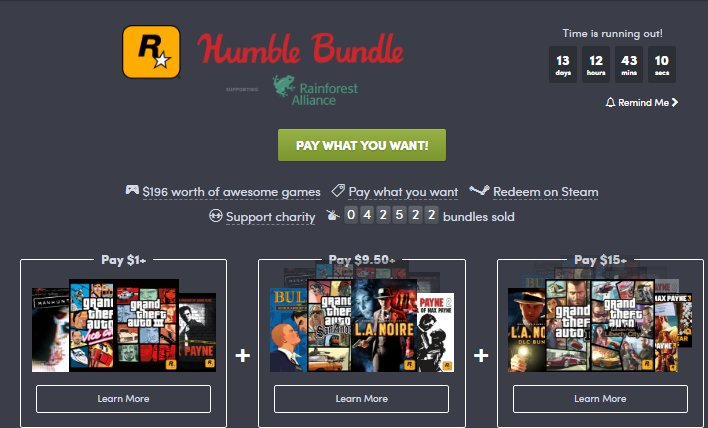 Photo of Humble Rockstar Bundle