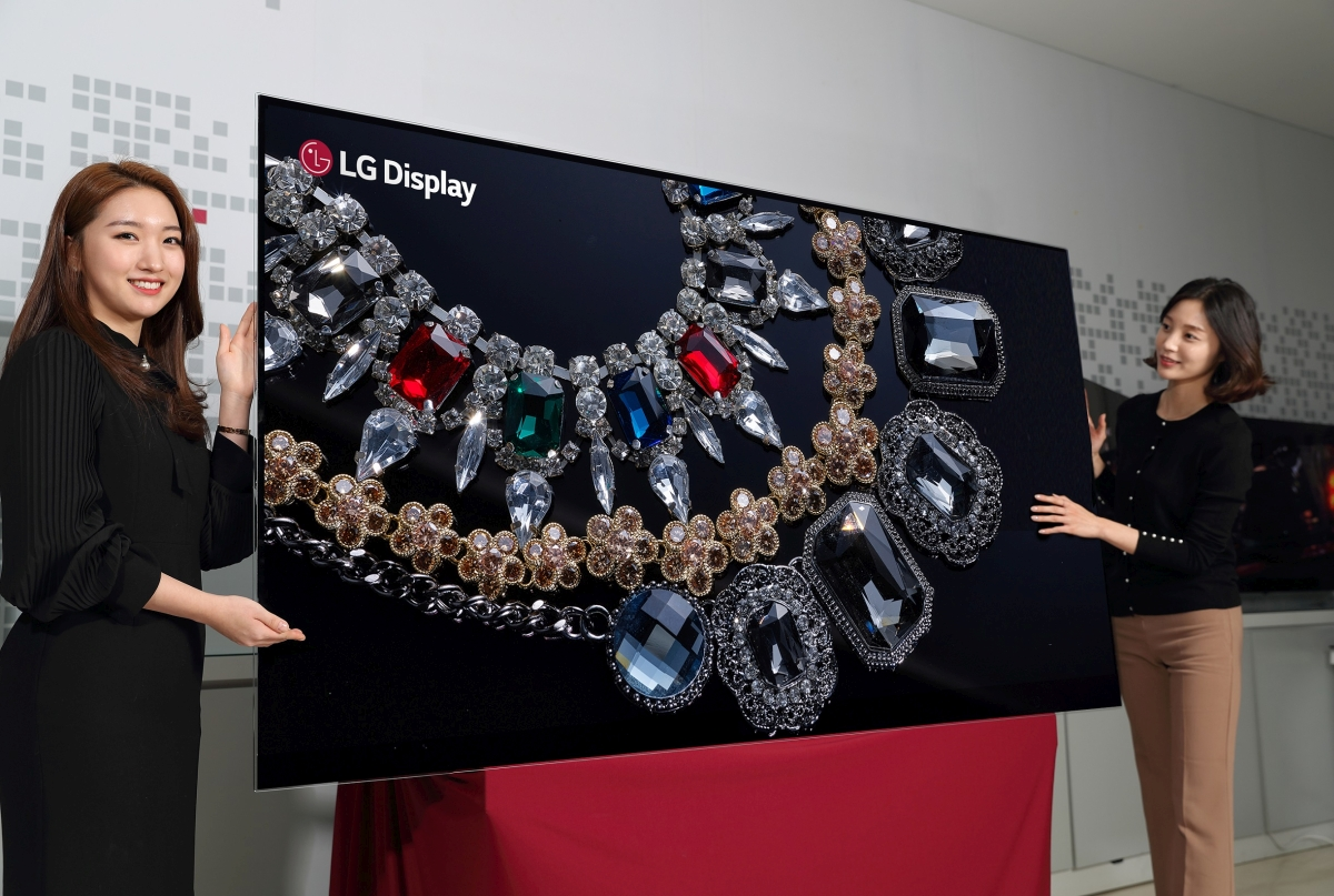 Photo of LG anunță un televizor OLED 8K masiv