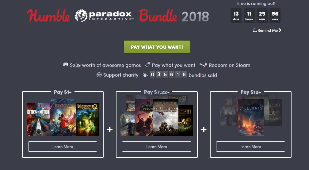 Photo of Humble Paradox Bundle 2018 a început