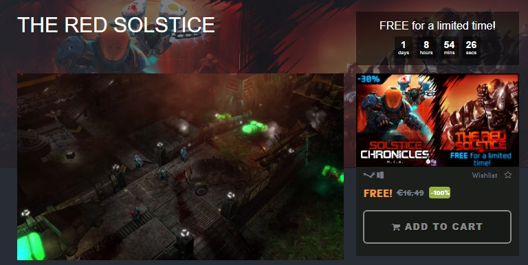 Photo of Humble Bundle oferă The Red Solstice gratuit