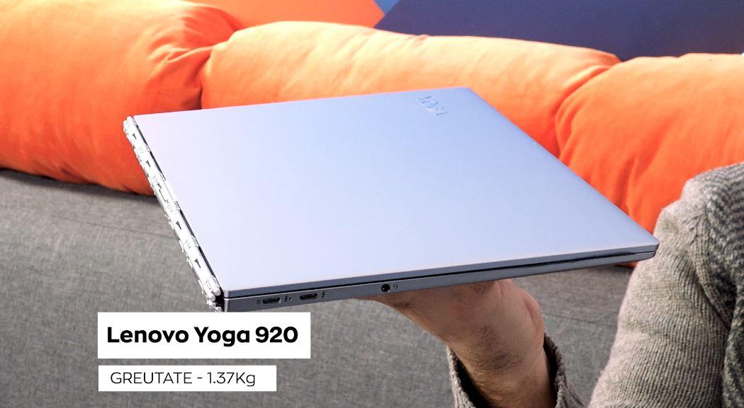 Photo of Lenovo Yoga 920 Review – Un laptop cu adevarat premium!