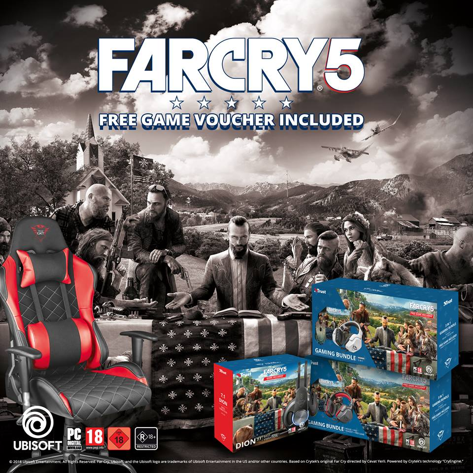 Photo of Trust si Ubisoft au pregatit un bundle special pentru seria Far Cry 5