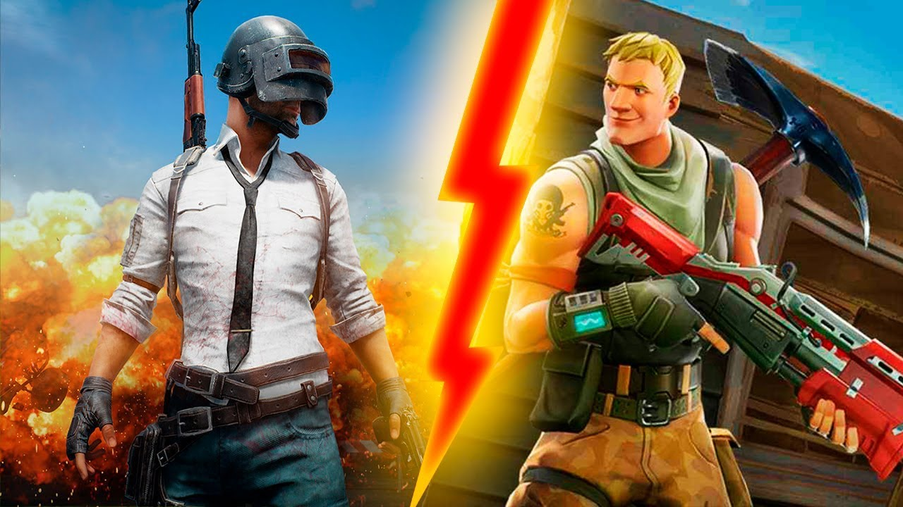 PLAYERUNKNOWN'S Battlegrounds vs Fortnite