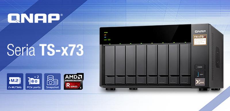 Photo of QNAP a lansat serverele TS-x73 cu procesoare AMD Quad-core din seria R