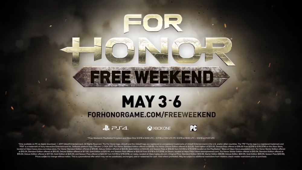 Photo of For Honor va fi disponibil gratuit în weekend-ul următor