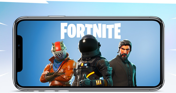 Fortnite iOS battle royale