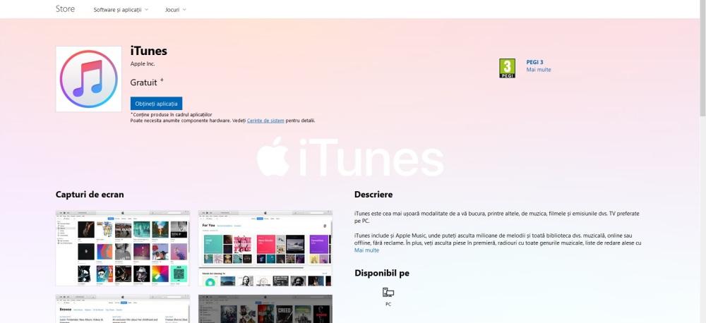 Photo of iTunes este în sfârșit disponibil în Microsoft Store