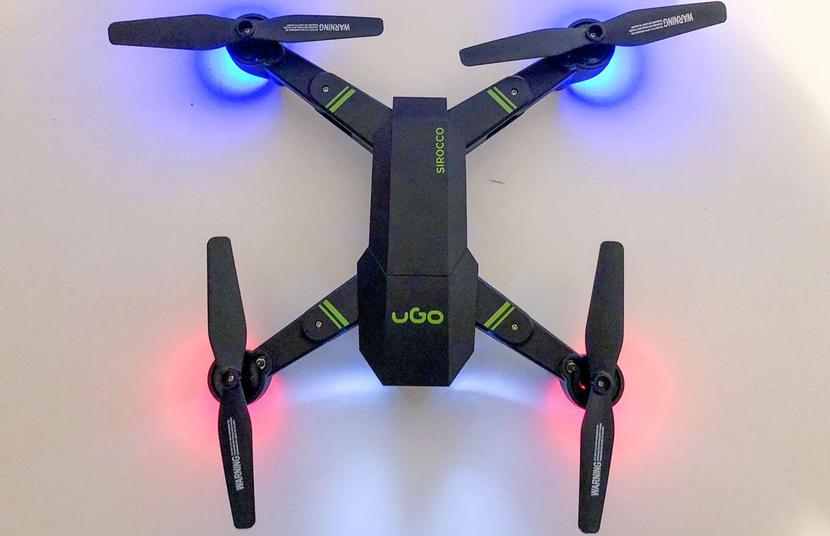 Photo of UGO SIROCCO (UDR-1173) – O drona de buget, perfecta pentru distractie!