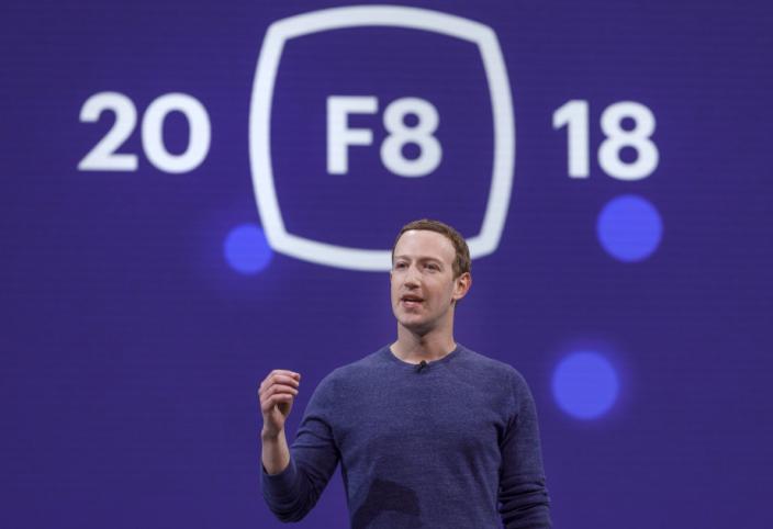 Photo of Cu ce s-a lăudat Facebook în prima zi a conferinței F8