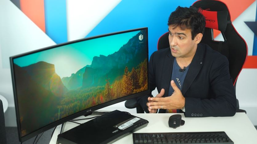 Photo of BenQ EX3501R – Un monitor gigant, curbat, cu 100Hz refresh rate!