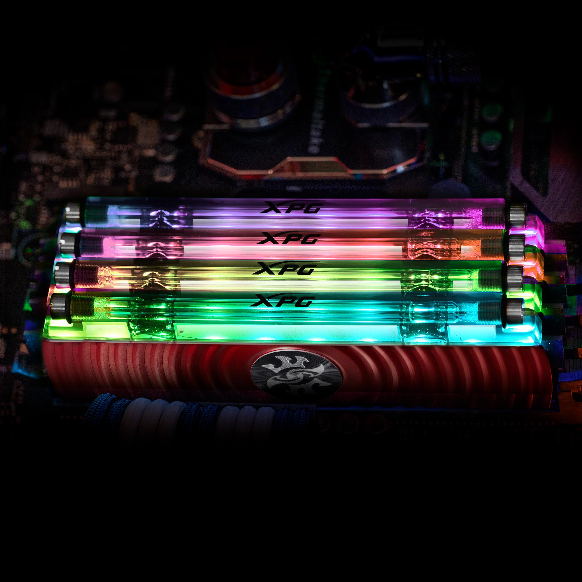 Photo of Modulele de memorie RGB ADATA XPG SPECTRIX D80 cu răcire prin azot lichid au atins pragul de 5531 MHz