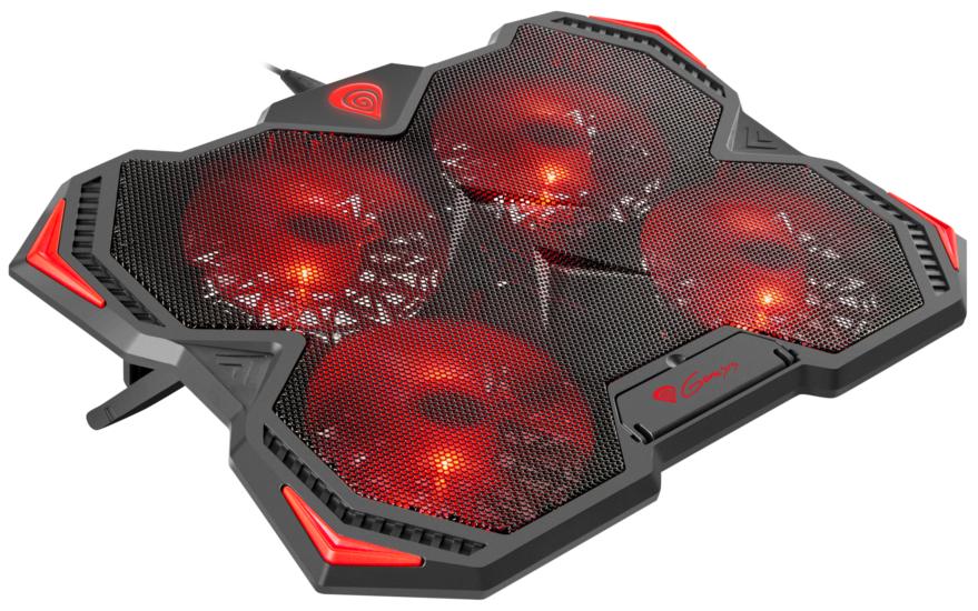 Photo of Genesis Oxid 250 Cooling Pad – Solutie ingenioasa de racire pentru laptop pe timp de vara!