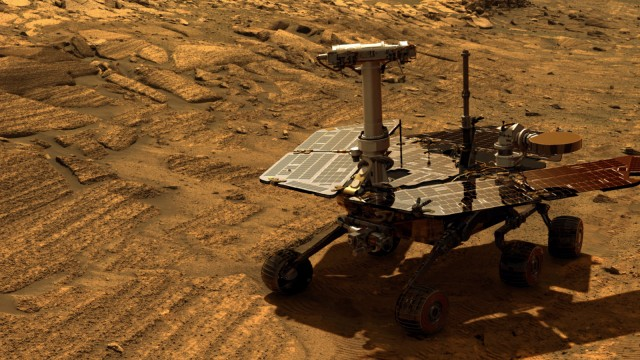 Photo of Opportunity a fost pierdut pe planeta Marte