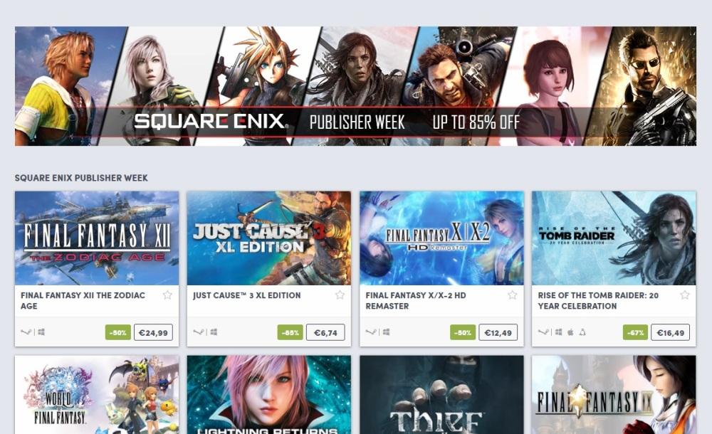 Photo of Reduceri de până la 85% pentru jocurile Square Enix în această săptămână