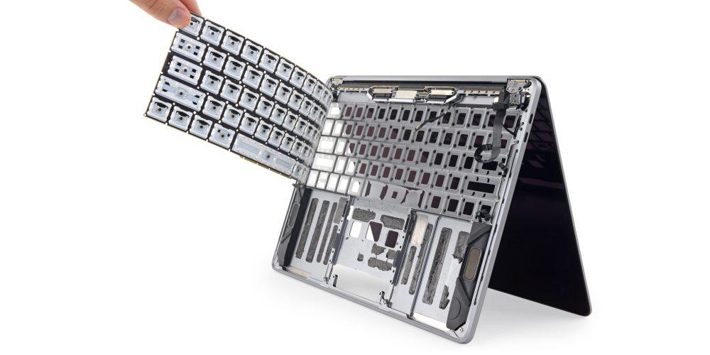 Photo of Tastatura noului MacBook Pro e mai rezistentă la praf, dar nu impermeabilă