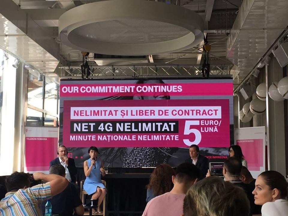 """Photo of """"Nelimitat"""" și """"fără obligații"""": cuvinte cheie al noii oferte comerciale lansate de Telekom România"""