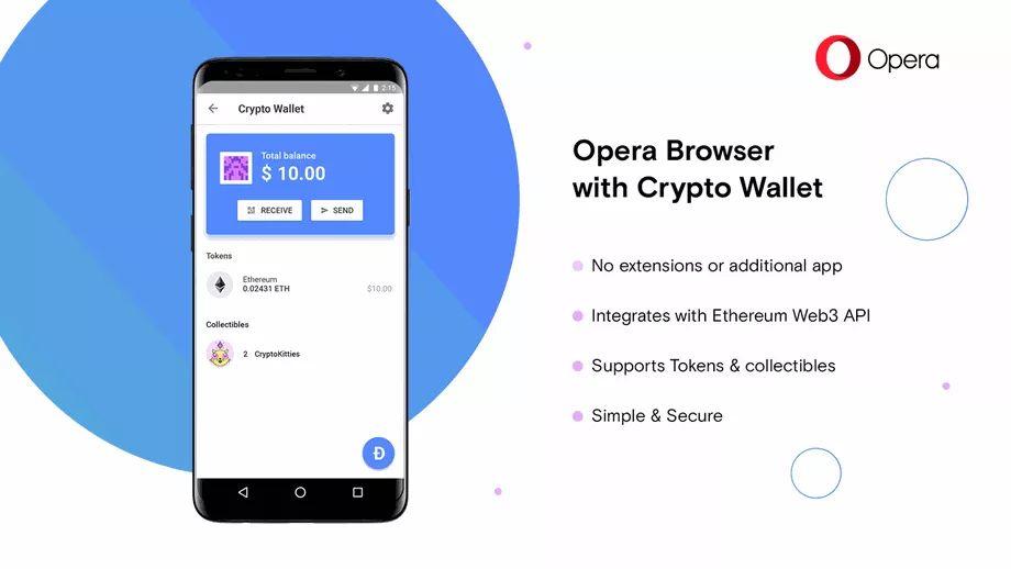 Photo of Opera primește un portofel pentru criptomonede