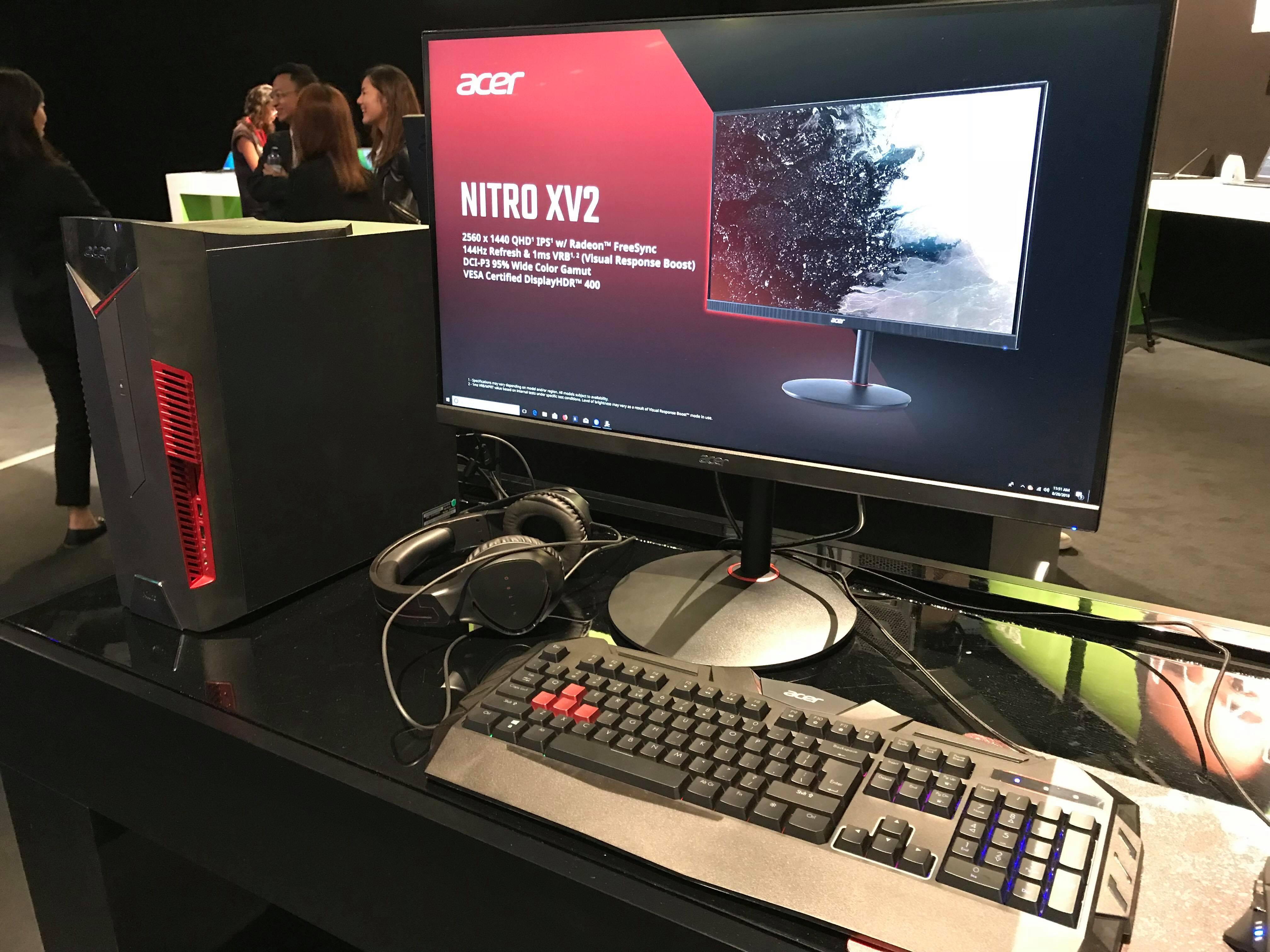 Monitorul Acer Nitro XV273K reprezintă o alternativă cu FreeSync pentru  seria Predator 679aeed7f5