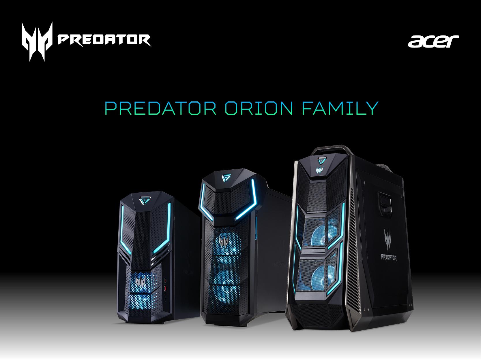 Photo of Acer își anunță suportul pentru noile plăci grafice NVIDIA GeForce RTX pe desktopurile de gaming din seria Predator Orion