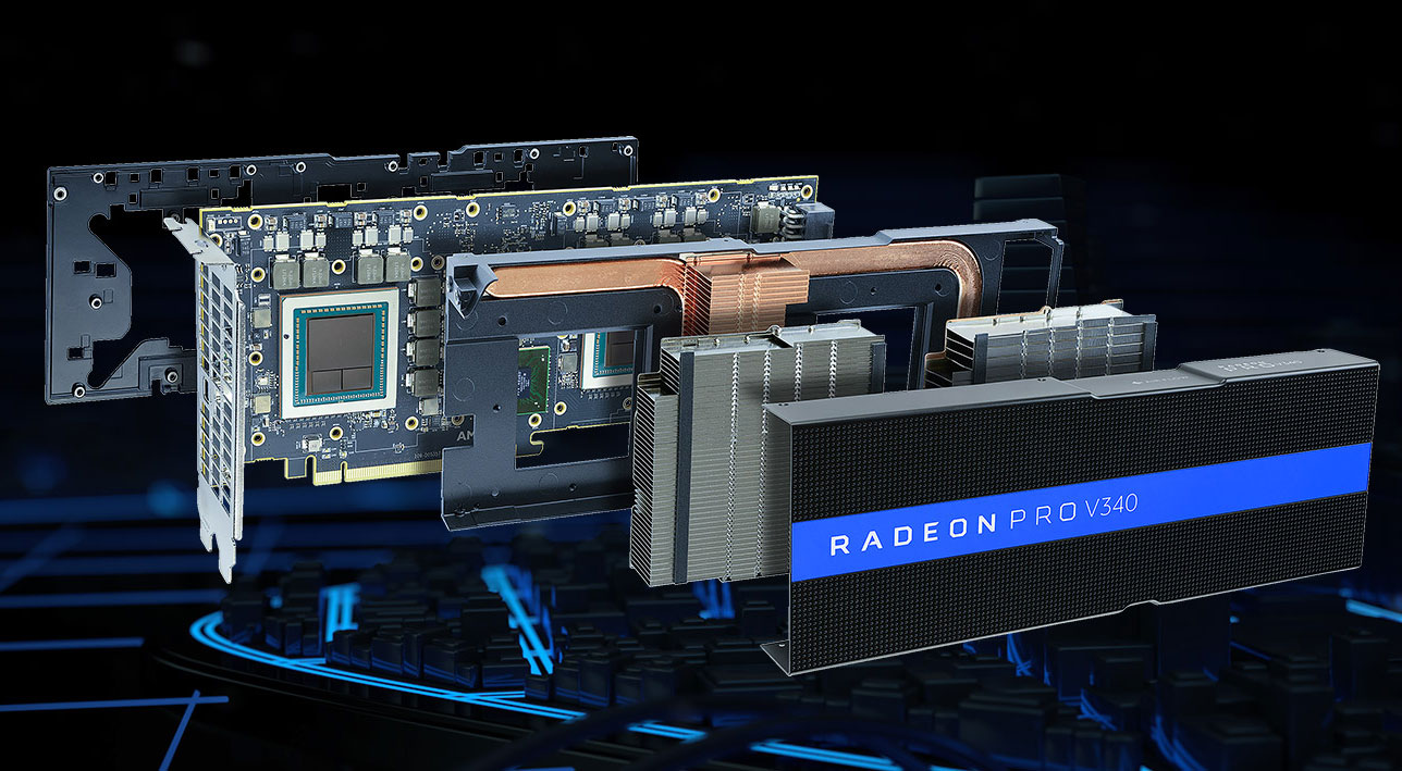 Photo of AMD anunță placa video Radeon Pro V340