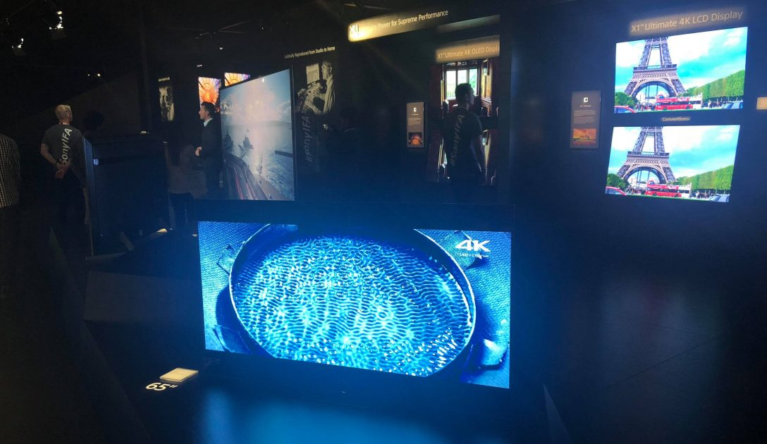 Sony la IFA 2018