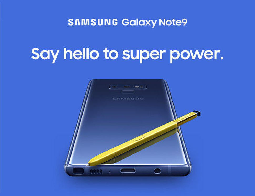 Photo of Samsung a promovat Galaxy Note 9 de pe un iPhone