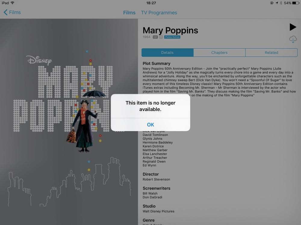 Photo of Apple șterge filmele cumpărate din contul de iTunes și nu restituie banii
