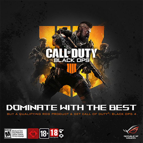 Photo of ASUS Republic of Gamers anunță parteneriatul cu Activision pentru Call of Duty: Black Ops 4