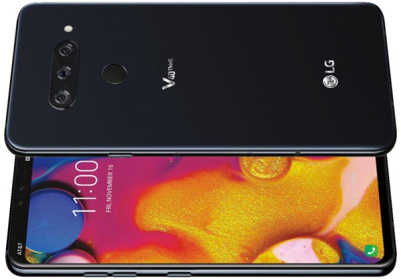 Photo of LG V40 a fost dezvăluit și are foarte multe camere