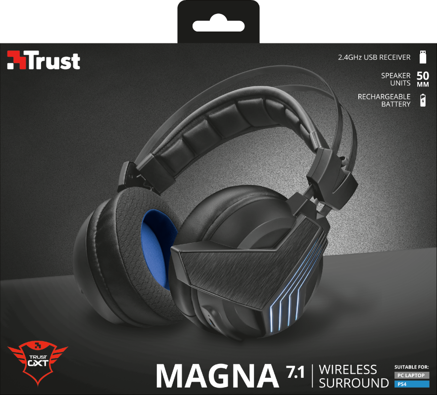 Photo of Trust GXT393 Magna Wireless 7.1 – căști de gaming de super buget