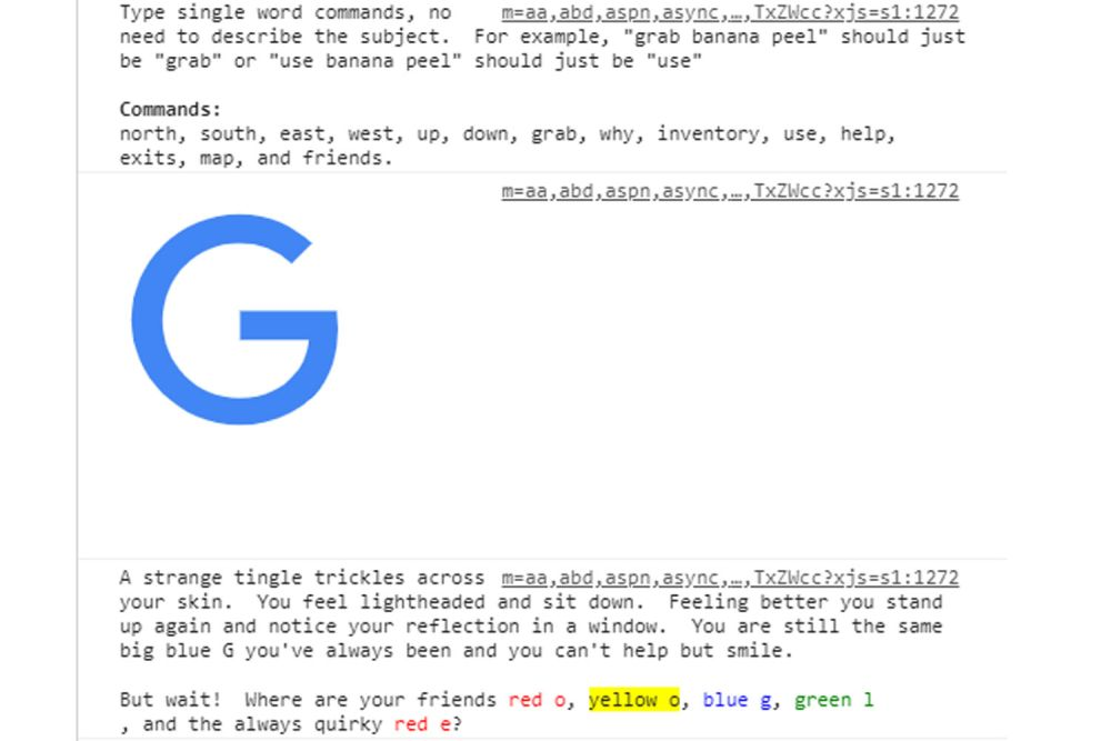 Photo of Cautarile pe Google ascund un joc de aventura cu text