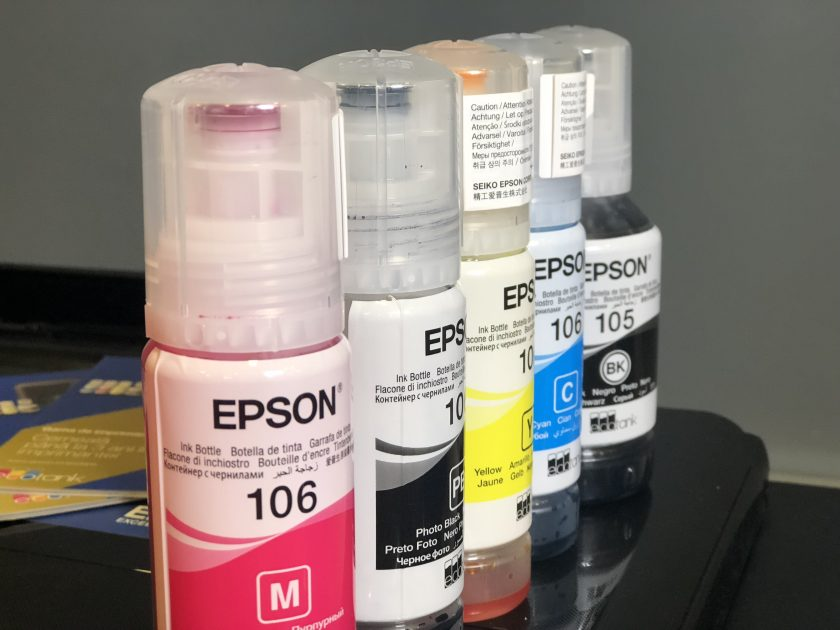 EcoTank cu 5 culori