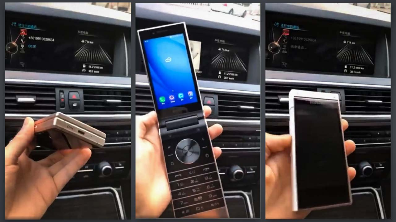 Photo of Samsung W2019 a aparut recent in cateva imagini