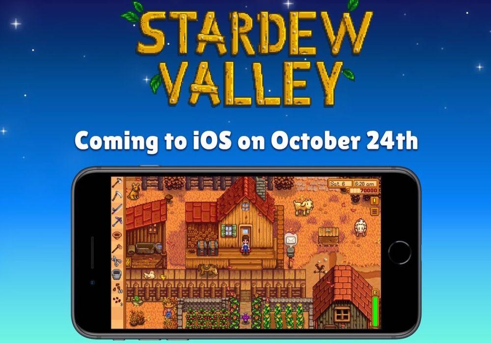 Photo of Stardew Valley va fi lansat pe iOS mai târziu luna aceasta