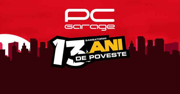 pc garage 13 ani pcgarage